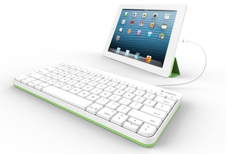 Logitech announces wired iPad keyboard in Lightning & 30-pin variants   Go Go Learning   Scoop.it