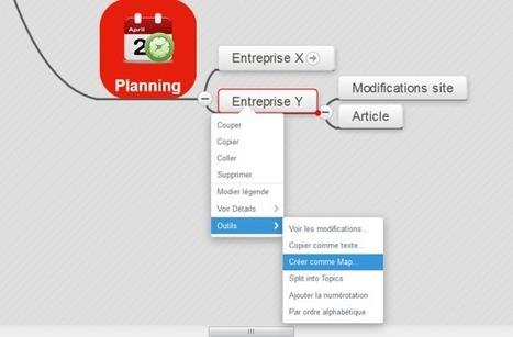 MindMeister et GTD : gérer les projets avec le planning | Innovations pédagogiques numériques | Scoop.it