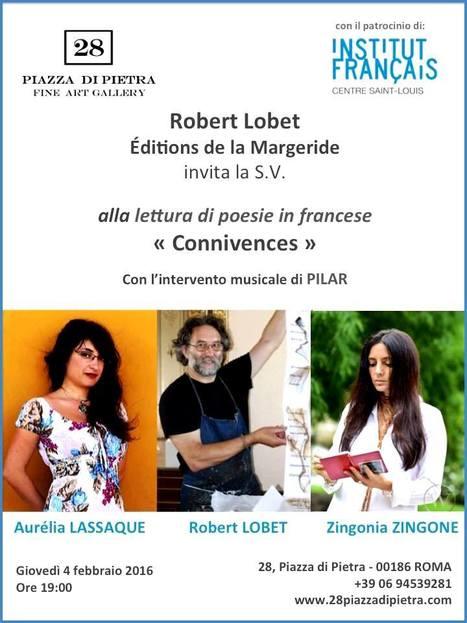 Jeudi 4 février 2016 ::  lecture-rencontre avec Aurélia Lassaque et Zingonia Zingone (Rome) | TdF  |   Poésie contemporaine | Scoop.it