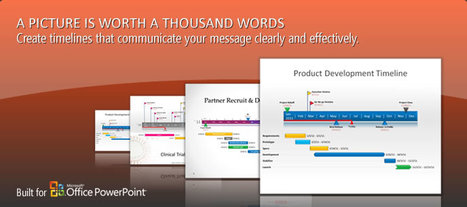 Create Beautiful Timelines, Gantt Charts, and Project Schedules in Microsoft PowerPoint | SDASDA | Scoop.it