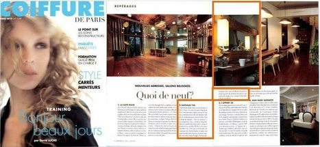 La Coiffure de Paris   Beauty Push, bureau de presse   Scoop.it