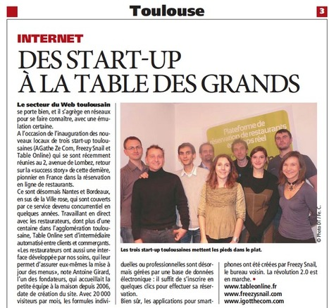Table on line sur Direct #Toulouse | Toulouse La Ville Rose | Scoop.it