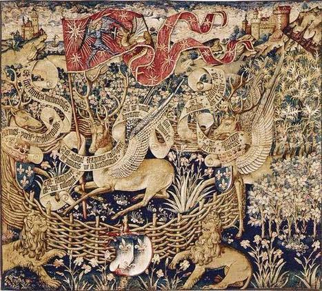 Les cerfs volants au Moyen Âge. (Rouen, musée des Antiquités de la Seine-Maritime) | L'actu culturelle | Scoop.it