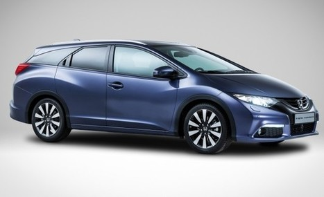 European-Market Honda Civic Tourer Wagon Revealed, Is All Kinds of Unique | No Trunks Allowed | Scoop.it