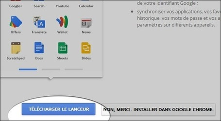 Comment installer le lanceur d'application Chrome | formation 2.0 | Scoop.it