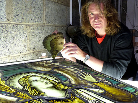 ALEX'S First-'Glass' Job - Inverclyde Now | Stained Glass | Scoop.it