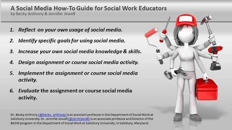 Social Media How-To Guide for Social Work Educators | Professional Learning Design | Scoop.it