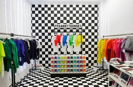Pantone en mode Pop Up | marketing | Scoop.it
