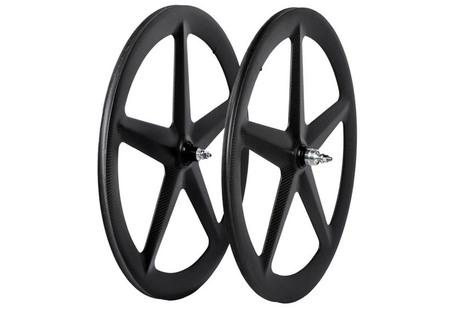 Carbon 5 spoke carbon fiber wheelset for Track/TT Carbon 5 spoke carbon fiber wheelset for Track/TT [VX-5FR] - Karbona Bikes, Performance carbon fiber bikes | Carbon fiber bikes | Scoop.it