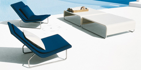 paola lenti: sand outdoor furniture series at monaco yacht show | Espalier - Garden Furniture - Wrought Iron Garden Furniture | Scoop.it