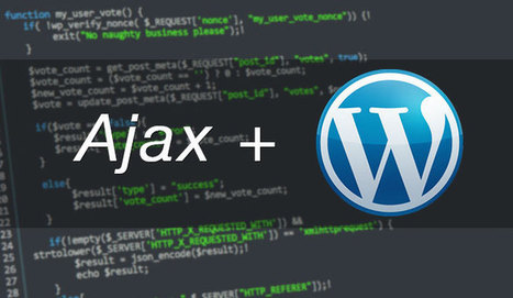 Ajax Wordpress: come utilizzarli insieme | Webdesign | Scoop.it