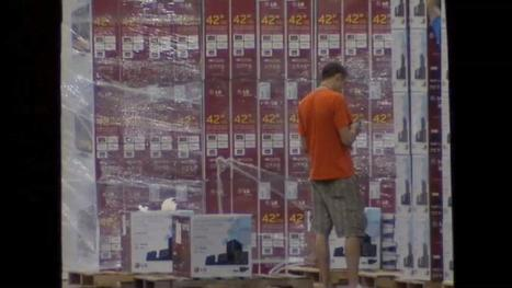 90 flat-screen TVs stolen from Florida warehouse (VIDEO) | READ WHAT I READ | Scoop.it