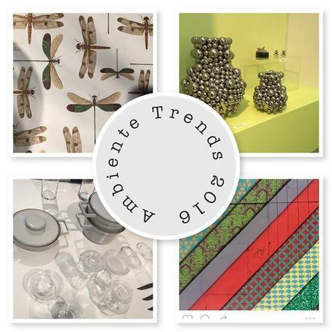 Decor Trends for 2016 discovered this February | Coloured Crystal | Scoop.it