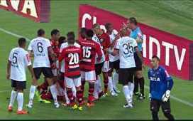André Santos se envolve em confusão com Weverton e Juninho aos 22 do 1º tempo | Rick | Scoop.it