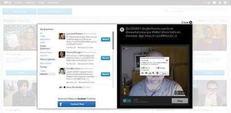 VYou ahora te permite responder mediante vídeo los tuits que recibas.-   Google+, Pinterest, Facebook, Twitter y mas ;)   Scoop.it