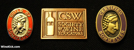 Wine Rising: Comparision of Wine Certifications - CSW, WSET, and Certified Sommelier | Italian Fine Wines | Scoop.it