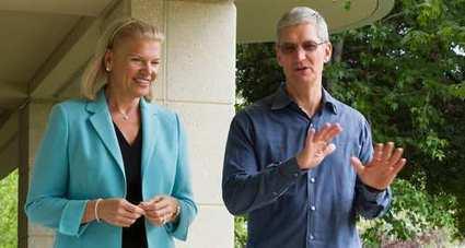 Apple et IBM vont faire numéro commun | Banque & Assurance | Scoop.it