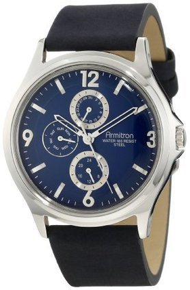 –>  20/4858BLSVBL Armitron Mens 20/4858BLSVBL Leather Silver-Tone Blue Dial Watch Armitron | Men's Watches for Everyday Discount Prices | Scoop.it