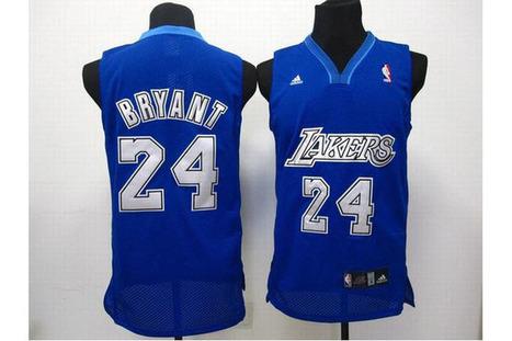 NBA Los Angeles Lakers Kobe Bryant 24 Blue Jerseys | new style | Scoop.it