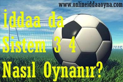 İddaa da Sistem 3 4 Nedir, Nasıl Oynanır? | iddaa siteleri | Scoop.it