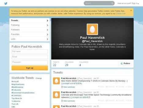 Paul Haverstick (Paul_Haverstick) on Twitter   Paul Haverstick   Scoop.it