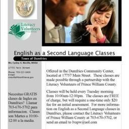 Town of Dumfries-FREE ESL Classes - PotomacLocal.com | scholarships ESL | Scoop.it