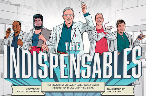 HHMI Bulletin Fall 2012: The Indispensables | No silences at lunch | Scoop.it