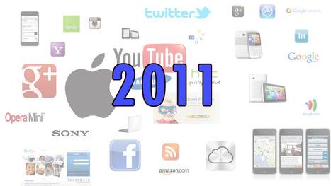 Dette skjedde i teknologi- og sosiale medier-året 2011 | Skolebibliotek | Scoop.it