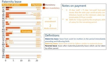 Maternity and paternity leave in the EU | Work-Life Balance | Scoop.it