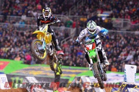 2014 St. Louis Supercross Results from Edward Jones Dome - Ultimate MotorCycling | News and Reviews | ryan villopoto | Scoop.it