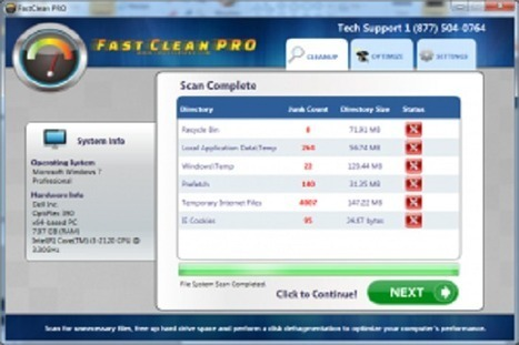 Fast Clean Pro [Removed] - How to Remove Fast Clean Pro | Remove Virus & Spyware | Remove PC virus | Scoop.it