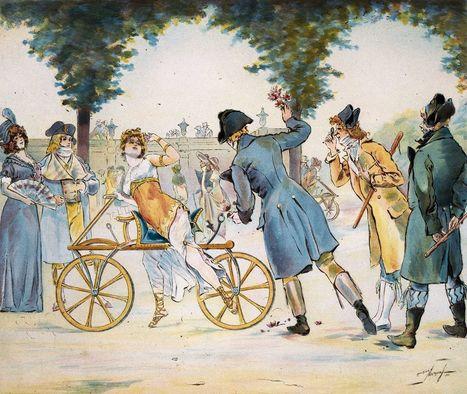 L'évolution de la bicyclette   Remue-méninges FLE   Scoop.it