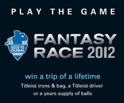 2012 Fantasy Race to Dubai | UK Golf | Scoop.it
