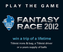 European Tour Fantasy Race to Dubai
