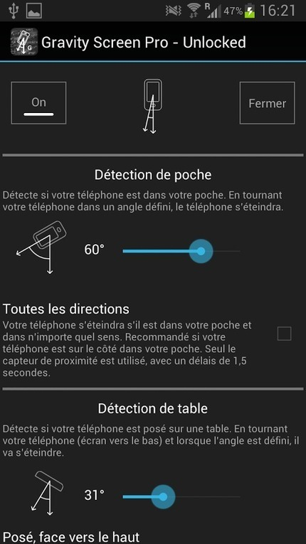 Gravity Screen – On/Off : prenez le contrôle de votre écran | Freewares | Scoop.it