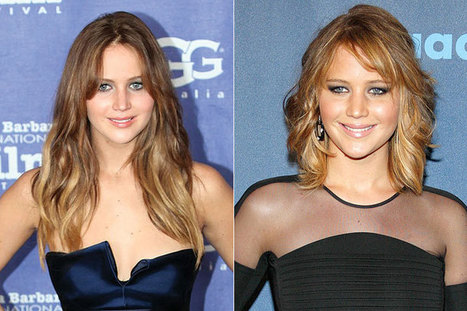 Ballsy Babe Jennifer Lawrence Chopped Off All of Her Hair. Thoughts? | Something Beautiful | Scoop.it