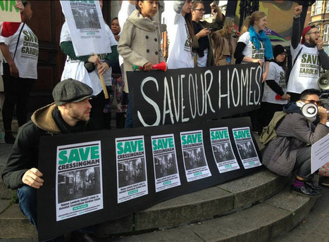 Cressingham Gardens campaigners march on Lambeth town hall for the second ... - BrixtonBuzz | Lambeth | Scoop.it