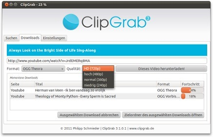 Capture and Save Video Clips in Full Resolution From Most Video Sharing Sites with ClipGrab | TELT | Scoop.it