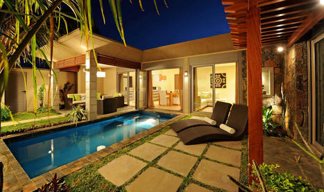 Marine Villa, modern villa with private pool and garden in Mauritius | Holiday rental in Mauritius | Scoop.it