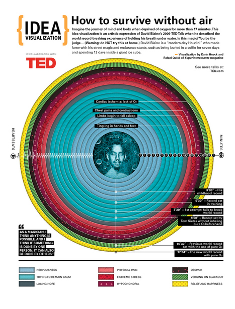 How to survive without air. Or, David Blaine: visualized! | TED Blog | Hoaxes and  mysteries | Scoop.it