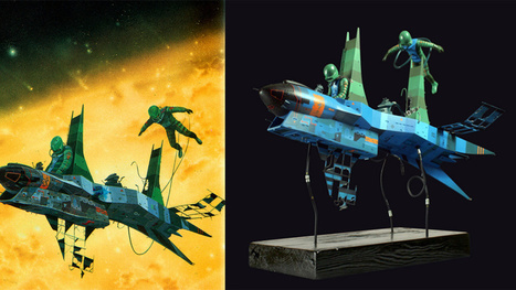 Artist turns a classic opera cover into a beautiful scale model   Strange days indeed...   Scoop.it