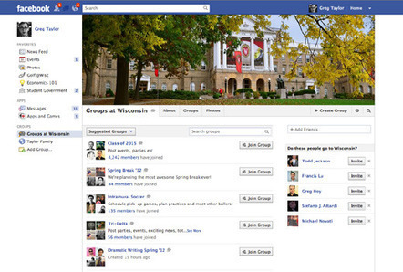 Facebook anuncia grupos para instituciones docentes | Aprendizajes 2.0 | Scoop.it