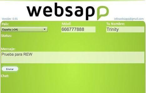 Websapp, para enviar mensajes a WhatsApp desde el navegador | MEDIA´TICS | Scoop.it