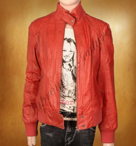 Assemble a unique look with tasteful Smashing Smart Pigment Leather Jacket | WOMEN JACKETS | Scoop.it