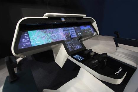 Les cockpits d'avion  du futur vu par Thales | Tout est relatant | Scoop.it