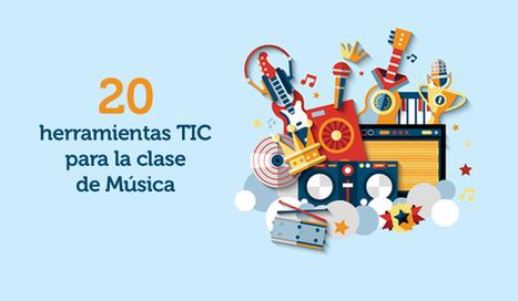 20 herramientas TIC para la clase de Música | REDEM | Educacion Tecnologia | Scoop.it