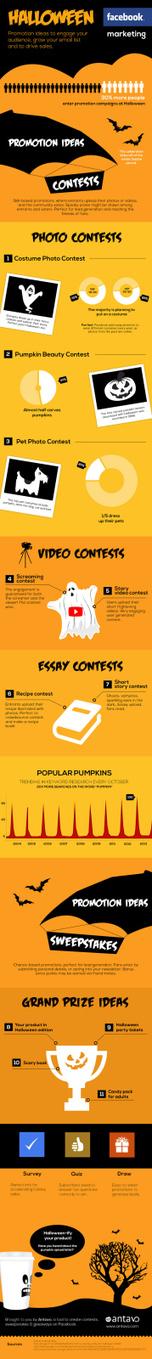 Marketing en FaceBook para Halloween #infografia #infographic #socialmedia   Seo, Social Media Marketing   Scoop.it