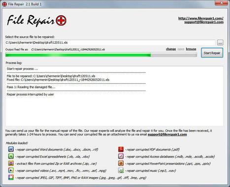 File Repair - easily repair corrupted files. | Techy Stuff | Scoop.it