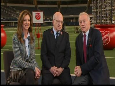Cowboys continue long partnership with Salvation Army   Salvation Army   Scoop.it