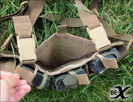 BE-X Micro Chest Rig M4 Edition | Popular Airsoft | Airsoft Showoffs | Scoop.it